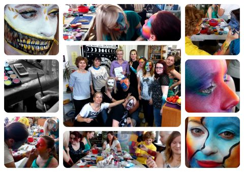WORKSHOP FACEPAINTING - 18. a 19.08.2017