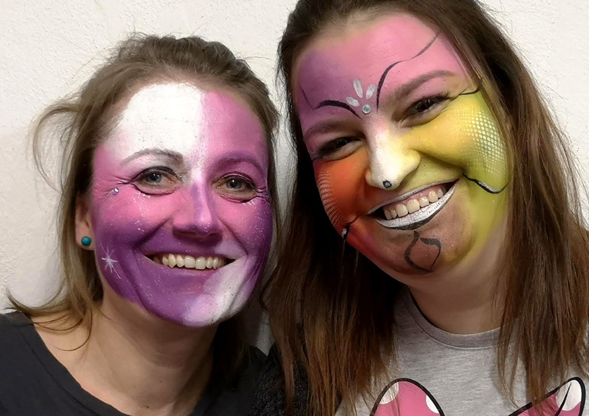 Workshop Facepainting unor 2020 12