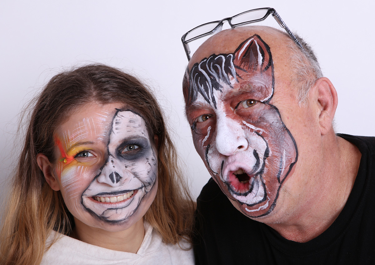 Workshop Facepainting listopad 2019 2