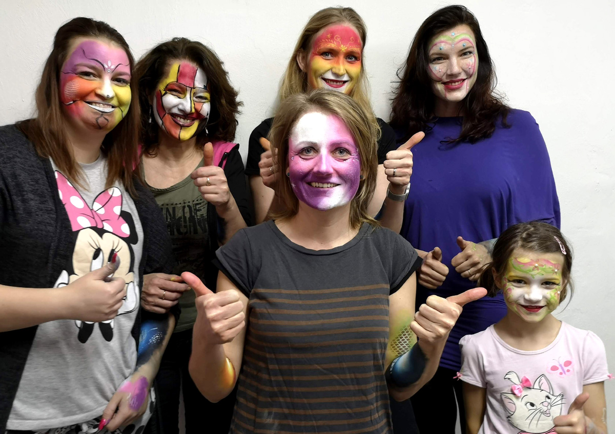 Workshop Facepainting unor 2020 3