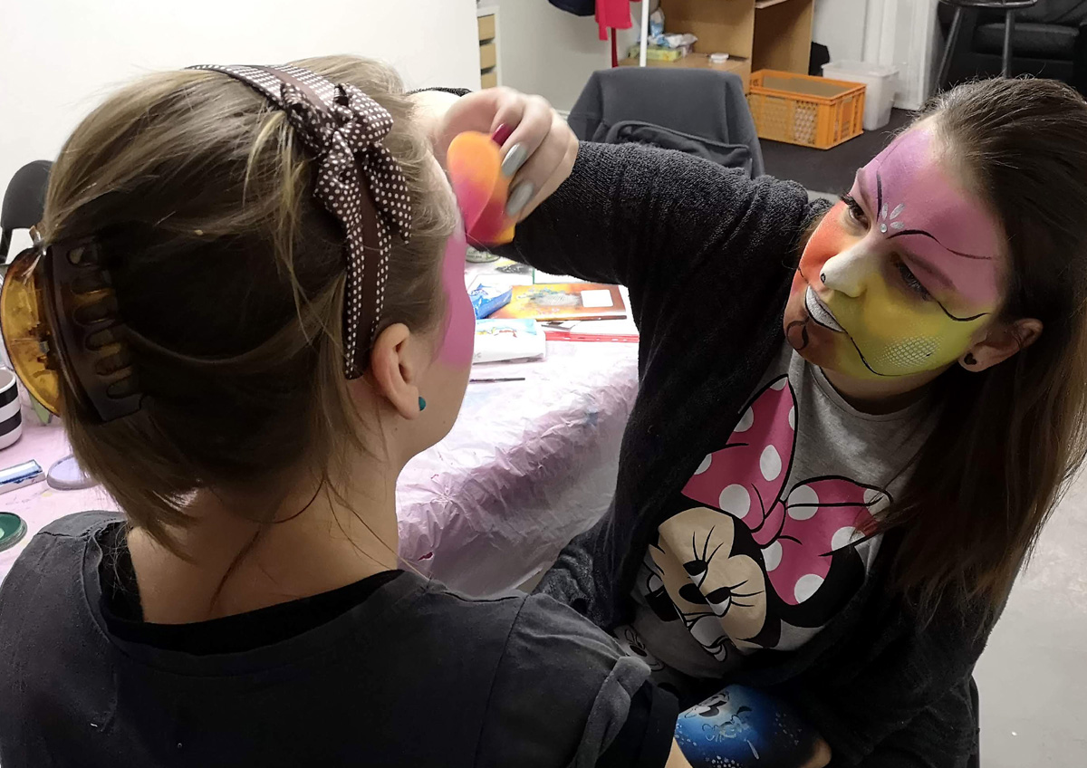 Workshop Facepainting unor 2020 4