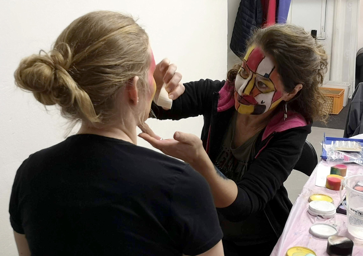 Workshop Facepainting unor 2020 5