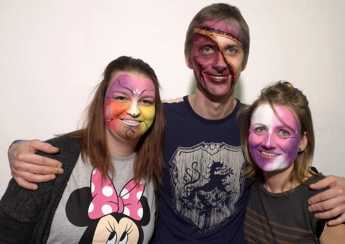 Workshop Facepainting unor 2020 9