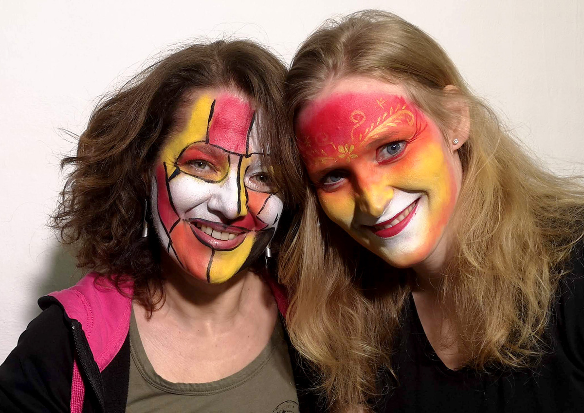 Workshop Facepainting unor 2020 10
