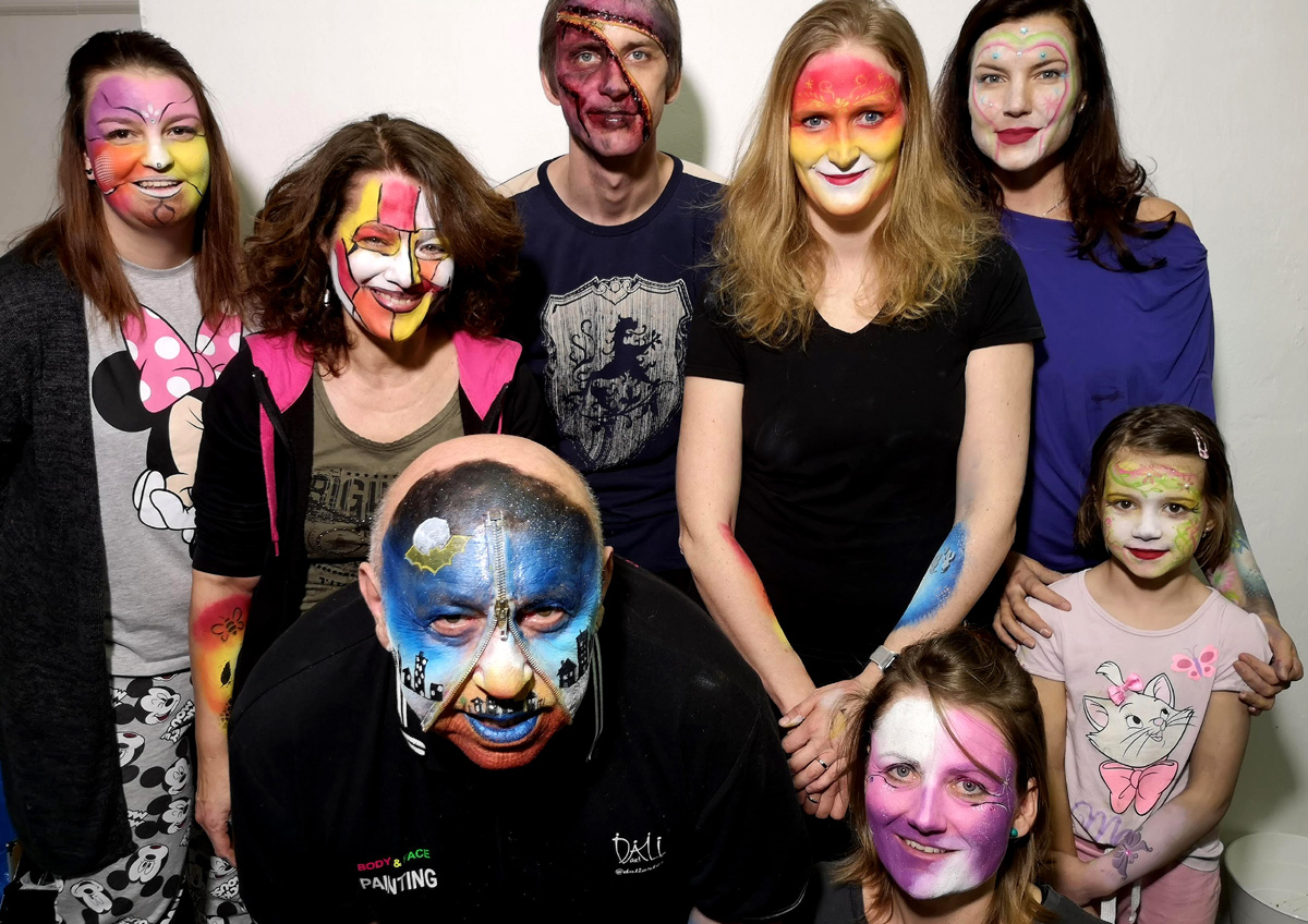 Workshop Facepainting unor 2020 8