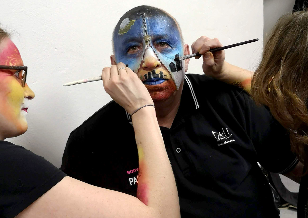 Workshop Facepainting unor 2020 6