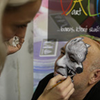Workshop Facepainting 1. den